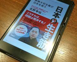日本の生き筋の表紙(kindle版)